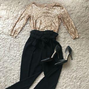 J.Crew Elegant Sparkle shirt